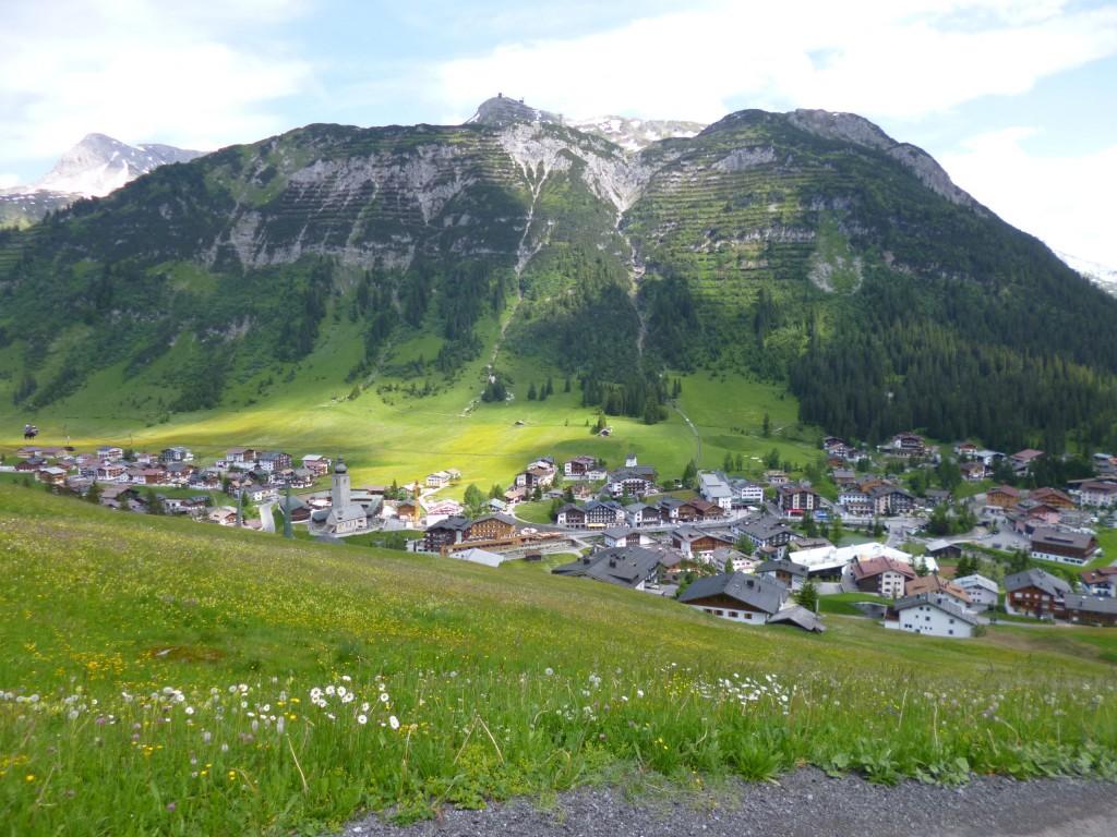 Immer wieder schön! Eine Woche im Juli zu Freunden nach Lech am Arlberg.